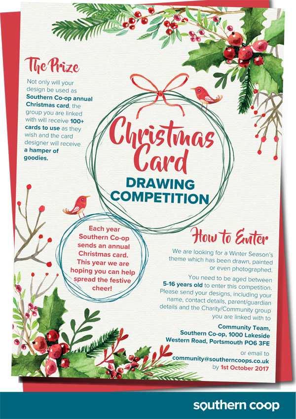 Southern Co-operative Christmas Drawing Competition